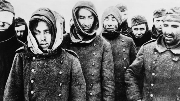 In russischer Gefangenschaft (Baranawitschy, Mai 1945)